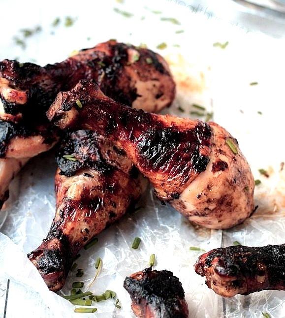 Balsamic-Glazed Grilled Chicken (Source